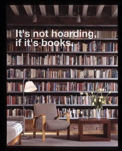 Image of Hoarding-Books