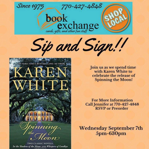 Image of Karen-White-Sip-n-Sign-